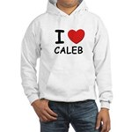 I love Caleb Hooded Sweatshirt