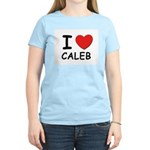 I love Caleb Women's Pink T-Shirt