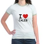 I love Caleb Jr. Ringer T-Shirt