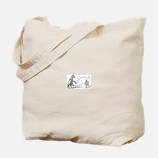 Lunging Tote Bag