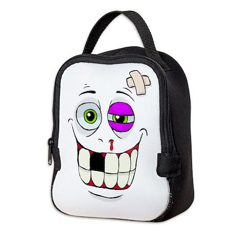 Beat-up Monster Neoprene Lunch Bag