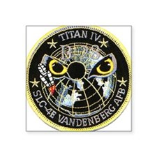 "Titan IV Vandenberg Square Sticker 3"" x 3"""