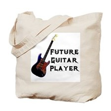 Future Guitar Player Tote Bag