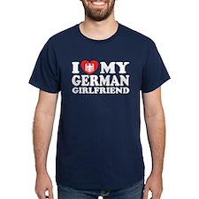 I Love My German Girlfriend T-Shirt