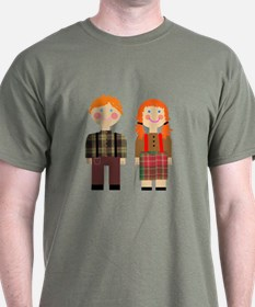 Raggedy Ann and Andy  T-Shirt