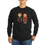 Raggedy Ann and Andy Long Sleeve Dark T-Shirt
