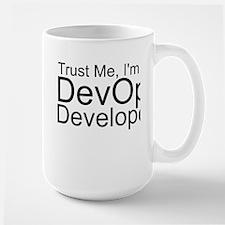 Trust Me, I'm A DevOps Developer Mugs
