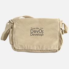 Trust Me, I'm A DevOps Developer Messenger Bag