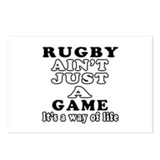 Rugby ain't just a game Postcards (Package of 8)