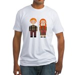 Raggedy Ann and Andy Fitted T-Shirt