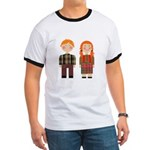 Raggedy Ann and Andy Ringer T