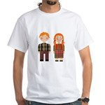 Raggedy Ann and Andy White T-Shirt