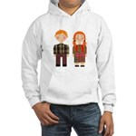Raggedy Ann and Andy Hooded Sweatshirt