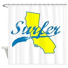 SURFER SHIRT CALIFORNIA SURFING T SHIRT TEE Shower