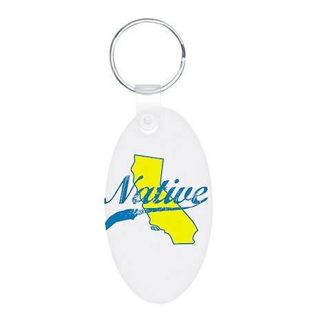 NATIVE CALIFORNIA SHIRT BUMPER STICKER TEE Keychai