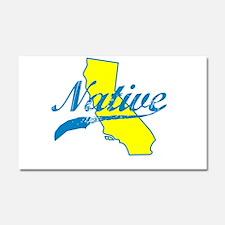 NATIVE CALIFORNIA SHIRT BUMPER STICKER TEE Car Mag