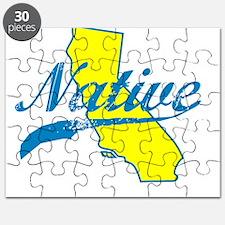 NATIVE CALIFORNIA SHIRT BUMPER STICKER TEE Puzzle
