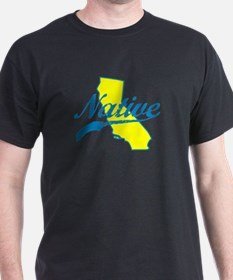 NATIVE CALIFORNIA SHIRT BUMPER STICKER TEE T-Shirt