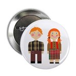 Raggedy Ann and Andy Button