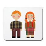 Raggedy Ann and Andy Mousepad