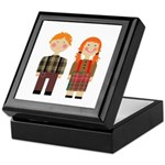Raggedy Ann and Andy Keepsake Box