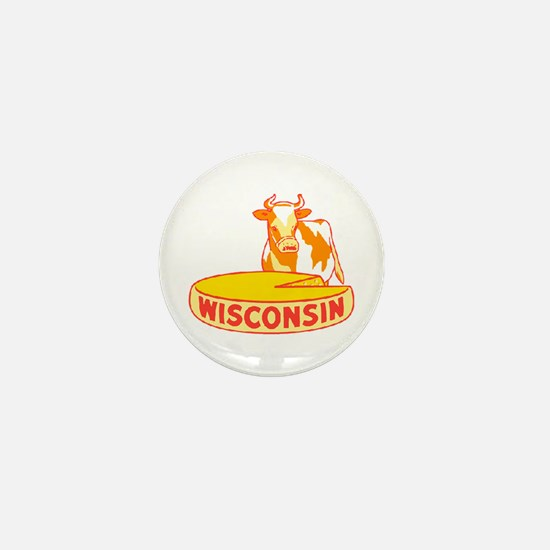 Vintage Wisconsin Cheese Mini Button