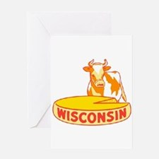 Vintage Wisconsin Cheese Greeting Card