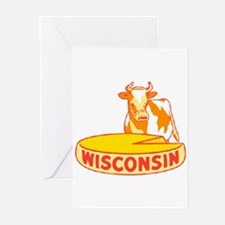 Vintage Wisconsin Cheese Greeting Cards (Pk of 10)