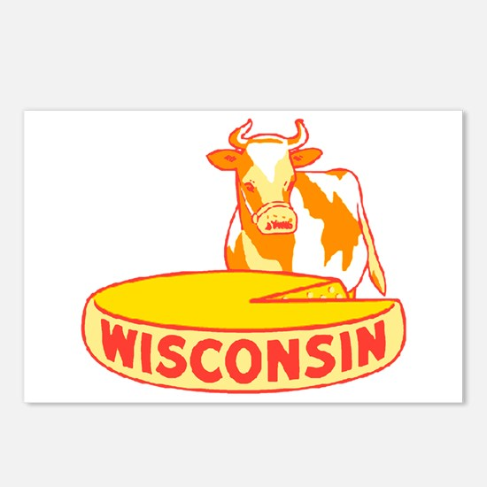 Vintage Wisconsin Cheese Postcards (Package of 8)