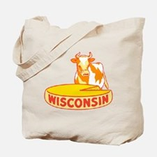 Vintage Wisconsin Cheese Tote Bag