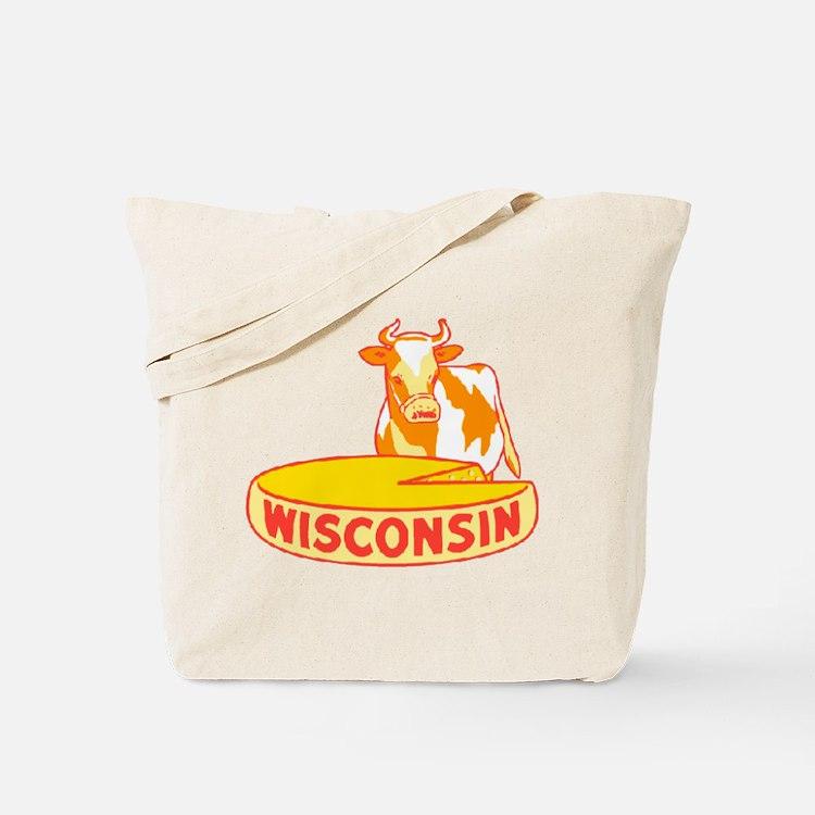 Vintage Wisconsin Cheese Tote Bag