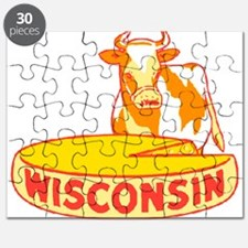 Vintage Wisconsin Cheese Puzzle