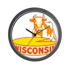 Vintage Wisconsin Cheese Wall Clock