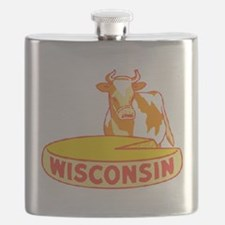 Vintage Wisconsin Cheese Flask