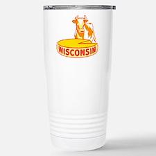 Vintage Wisconsin Cheese Travel Mug