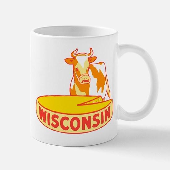 Vintage Wisconsin Cheese Mug