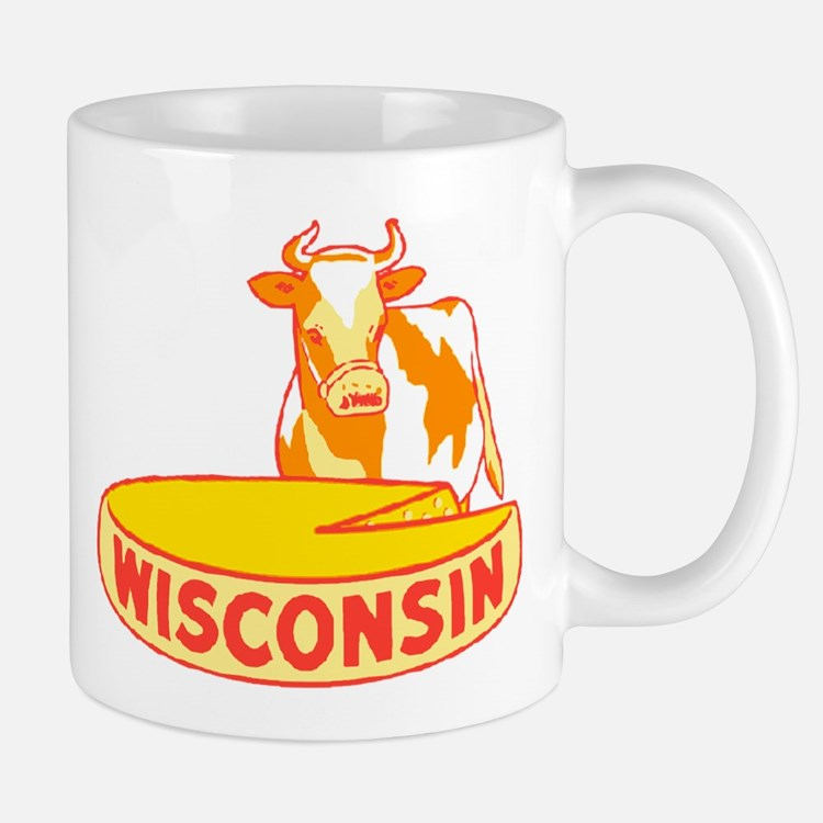 Vintage Wisconsin Cheese Mug
