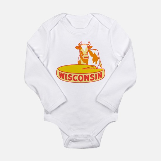 Vintage Wisconsin Cheese Body Suit