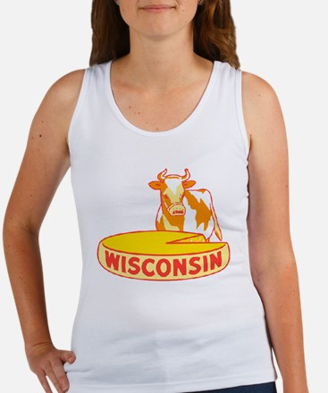 Vintage Wisconsin Cheese Tank Top