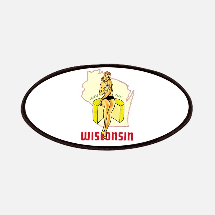 Vintage Wisconsin Pinup Patches