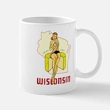 Vintage Wisconsin Pinup Mug