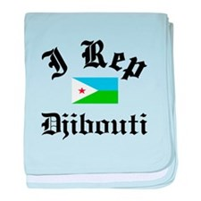 I rep Djibouti baby blanket