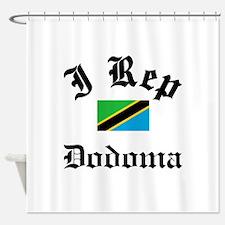 I rep Dodoma Shower Curtain