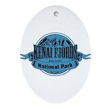 kenai fjords 1 Ornament (Oval)