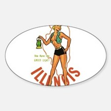 Illinois Pinup Decal