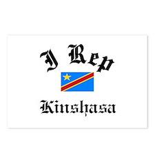 I rep Kinshasa Postcards (Package of 8)