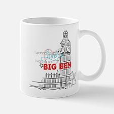 """""""Going To London"""" Lyric - Big Ben Mug"""