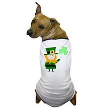 Little Irish Guy Dog T-Shirt