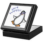 Get Happy Dancing Penguin Keepsake Box