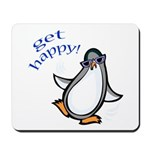 Get Happy Dancing Penguin Mousepad